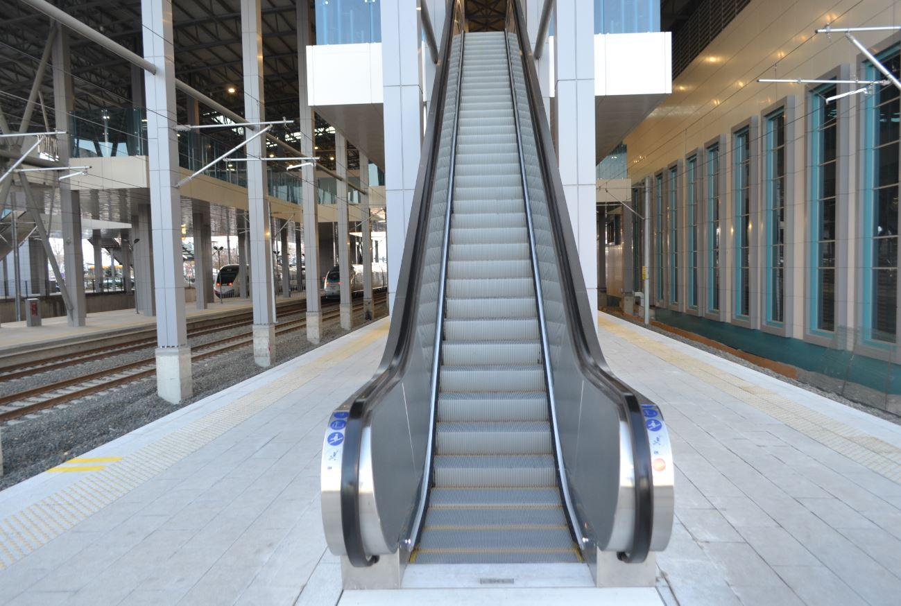 Ankara Başkentray Yürüyen Merdivenler