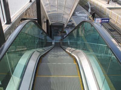 Aydın Tren Garı Yürüyen Merdiven